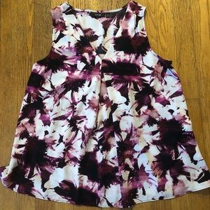 Apt 9 Sleeveless dress shirt Tank Top